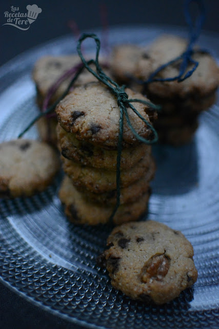 Galletas con chocolate chips tererecetas 04