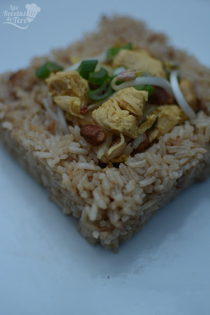 Arroz Thai Con Pollo